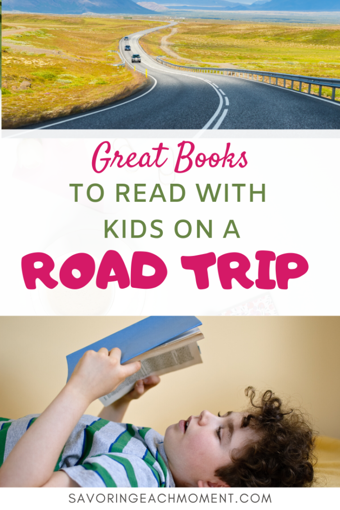 Read Aloud Books for Kids on a Road Trip