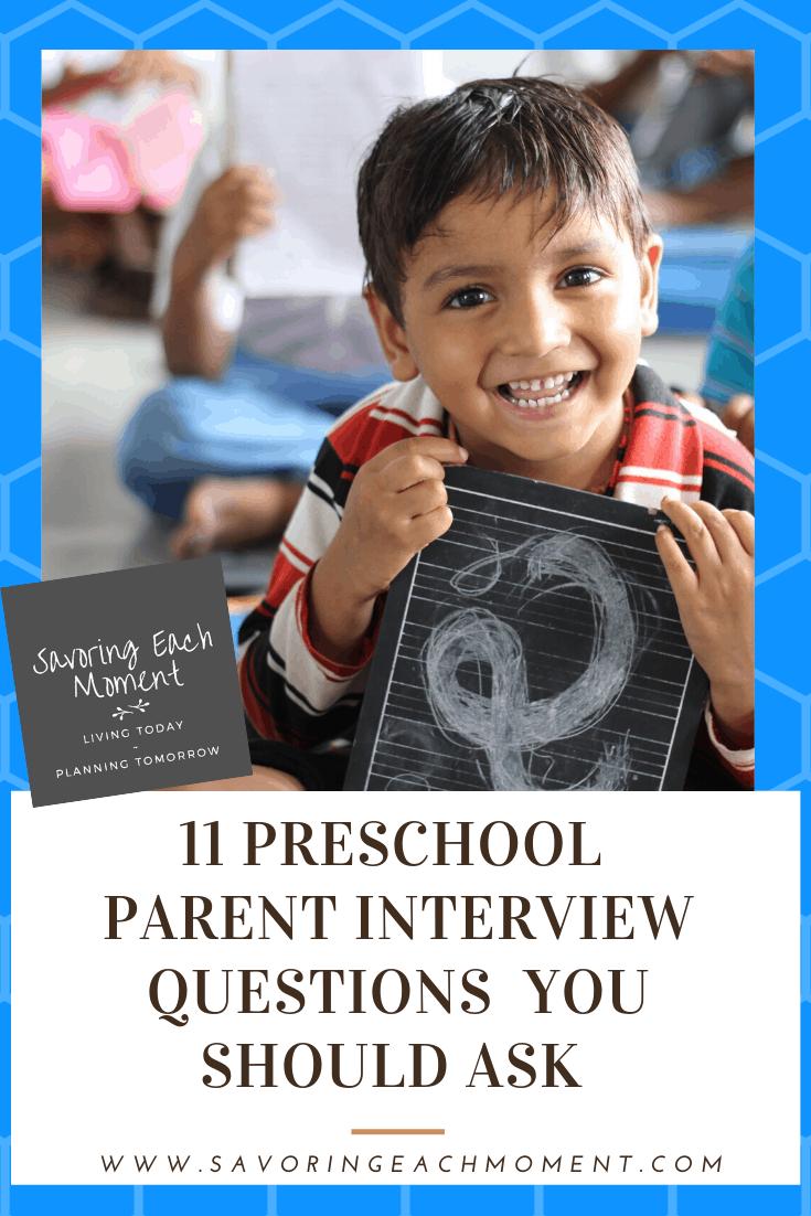 11 Preschool Parent Questions You Should Ask