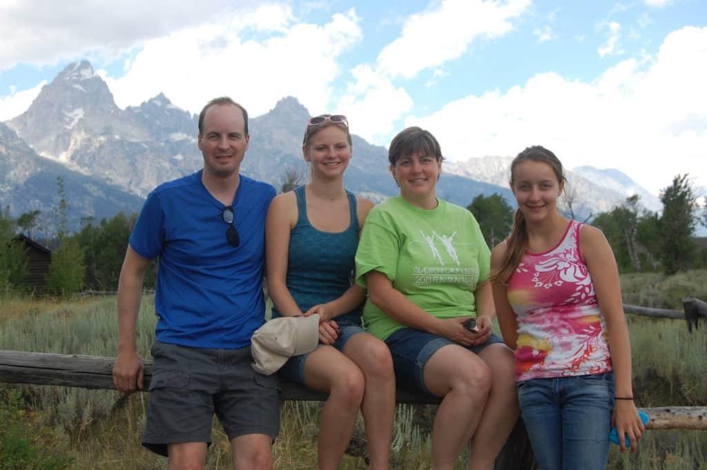 Family - Teton National Park