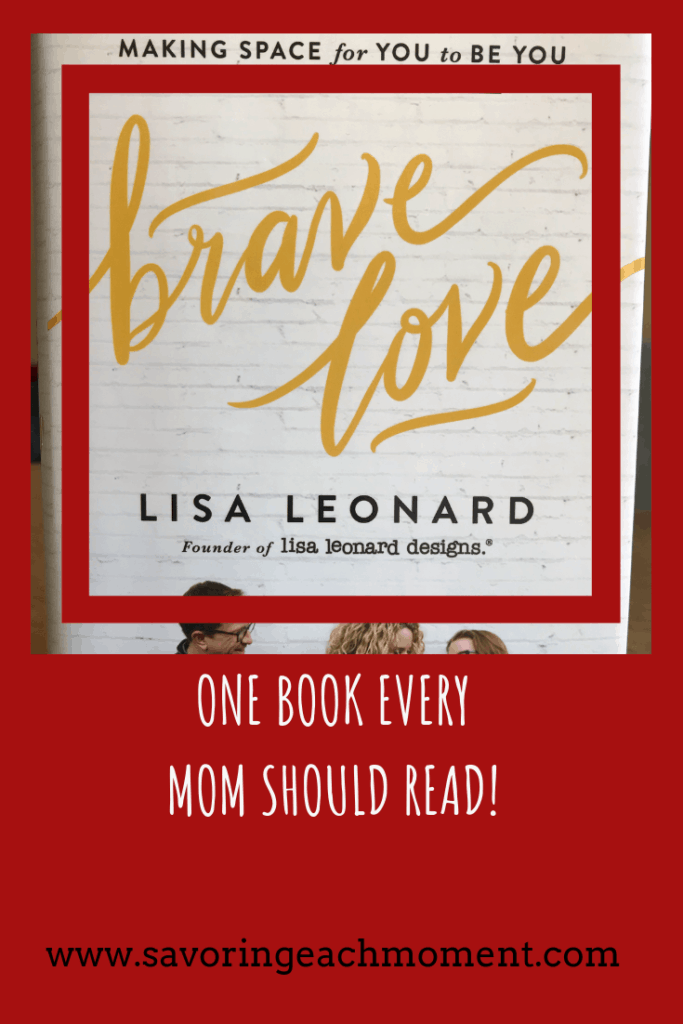 Brave Love book cover by Lisa Leonard.