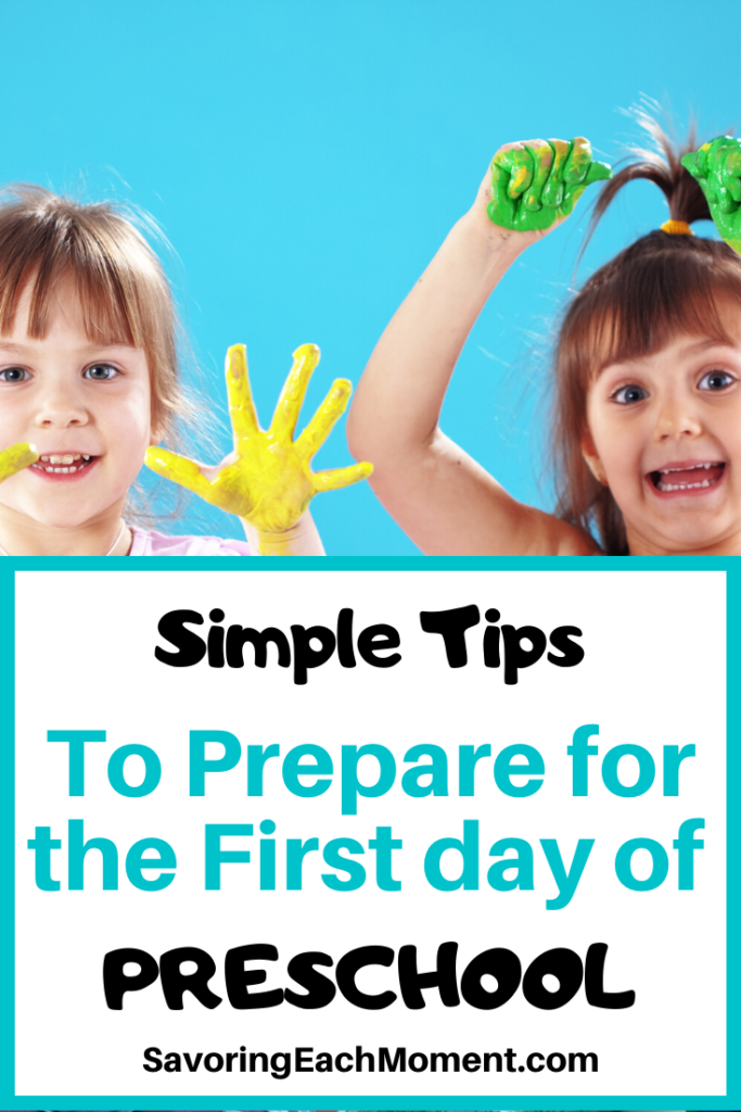 Tips for the First Day of Preschool