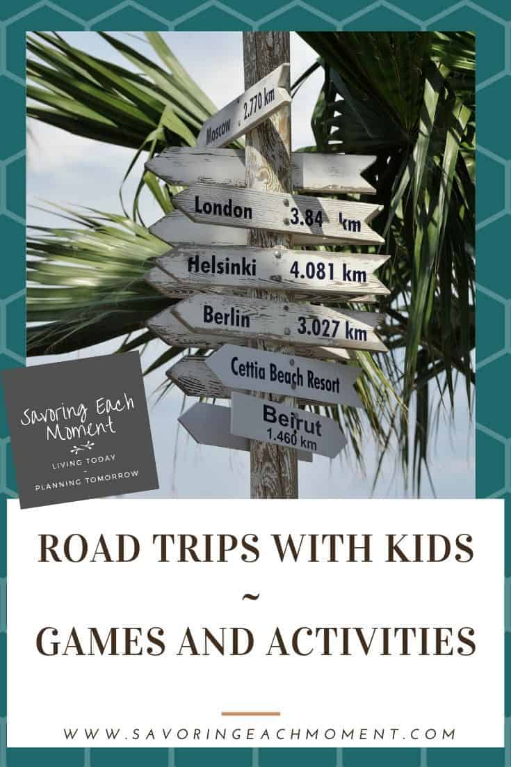 Travel Activities for Kids on a long road trip