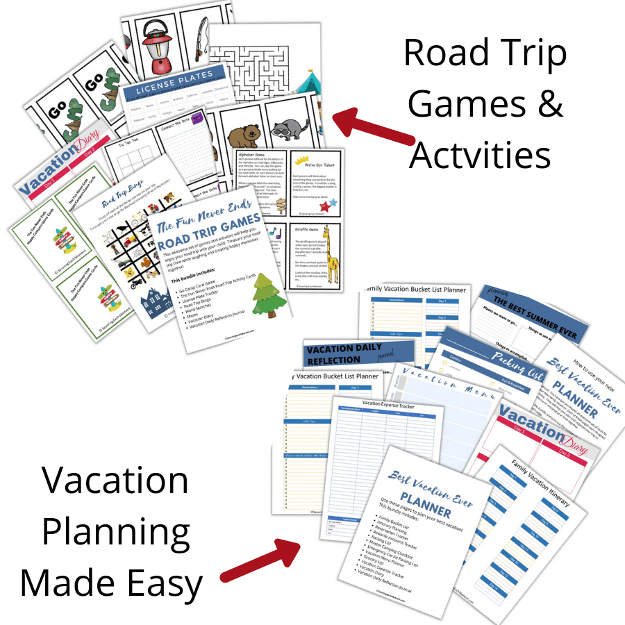 Road Trip Games and Activities for Kids